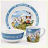 Набор детской посуды Maestro MR 10039-90, 3пр