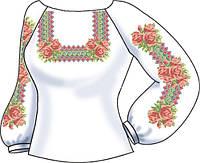 Заготовка для вишивки бісером Жіноча сорочка. білий e76270f044892