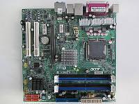 Плата S775 на DDR2 ACER MRS600M понимает 2 ЯДРА ПРОЦЫ INTEL Core2DUO до E6700 775 FSB 1066 c ГАРАНТИЕЙ