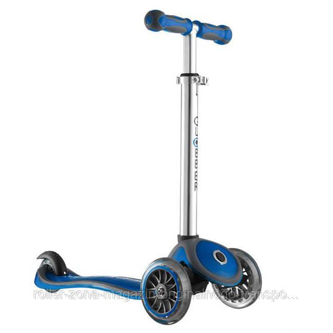 Самокат-Велобег GLOBBER MY FREE 2C 4 в 1 синий