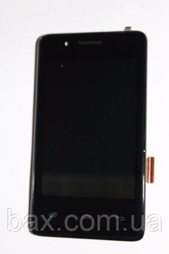 Fly IQ436i сенсор + дисплей (оригинальный) черный