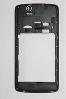 Fly IQ4503 средняя часть + стекло камеры черная