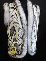 Теплые меховые жилетки для женщин., фото 1