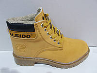 Ботинки повседневные Calsido с мехом Турция р.36-44