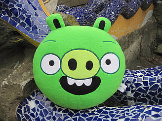 Мягкая игрушка - подушка Свинья Энгри Бердс Angry Birds ручная работа