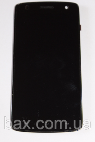 Fly IQ4503 модуль (оригинальный) черный с рамкой