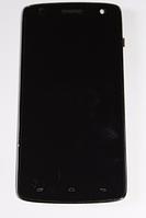 Fly IQ4503 модуль (оригинальный) черный с рамкой, фото 1