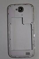 Fly IQ4406 средняя часть + стекло камеры белая