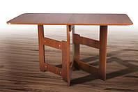 """Стол трансформер """"Книжка Light"""" Орех темный (Микс Мебель), фото 1"""