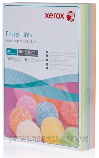 Цветная бумага Xerox SYMPHONY Pastel Rainbow Pack (80) A4 500л. (003R97500)