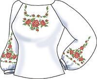 СВЖЛ-15. Заготовка для вишивки бісером Жіноча сорочка лляна. 905412e74c30f