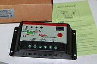 Солнечная батарея 20А 18 режимов Контроллер заряда аккумулятора 12/24в автоопределение