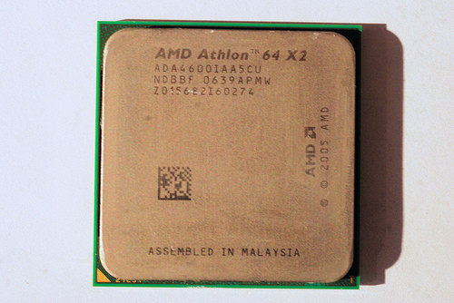 Процессор AMD Socket am2 на 2 ЯДРА ATHLON 64 X2 4600 ( 2 по 2.4 Ghz) sam2 am2+ 4600+ с ГАРАНТИЕЙ