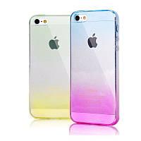 Силиконовая накладка Bicolour Silicon Case for iPhone 5 Mix