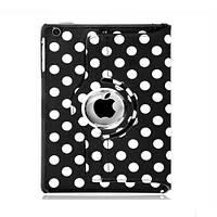 Чехол Smart Cover для Apple iPad mini с поворотом на 360 градусов в горошек