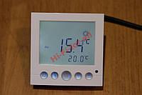Регулятор температуры 3.6kW 2 датчика 42точки теплый пол  программирования в ванную на кухню детскую