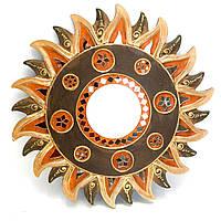 Зеркало декоративное мозаичное Солнце
