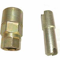 Ключ для разборки стоек ВАЗ 2108-2109 с ручками    (Красный Луч)