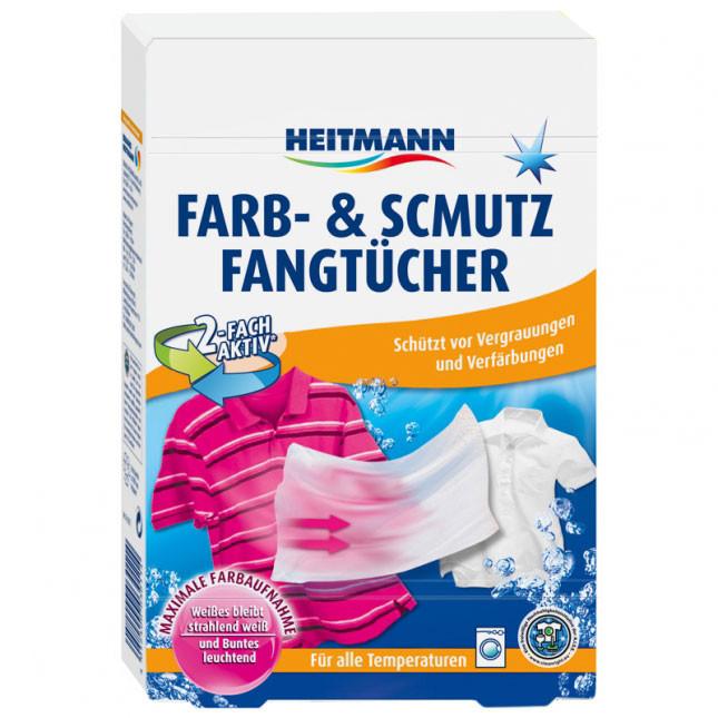 Салфетки для защиты цвета и линяния при стирке Heitmann 15шт