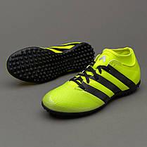 Сороконожки Adidas ACE 16.3 PRIMEMESH TF AQ3434 JR (Оригинал), фото 2