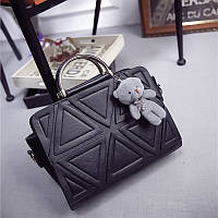 Женская сумка с мягкой игрушкой 6536