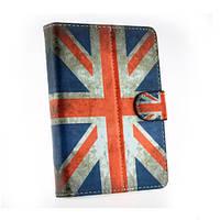 Универсальный чехол для 7 дюймового планшета Британский флаг - ретро стиль