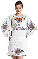Заготовка платья с длинным рукавом 003