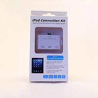 Переходник USB кардридер 3-в-1 Ipad4 Ipad mini
