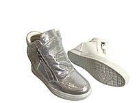Женские серебряные сникерсы,Демисезонные