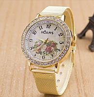 Женские наручные часы HOANS цветы