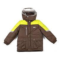 Lenne Куртка «Carl» коричнево-лимонная