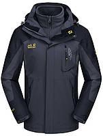 Новая модель ! Мужские куртки 3в1 JACK WOLFCLAN