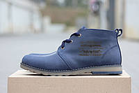 Мужские ботинки Levis темно синий (Реплика ААА+)