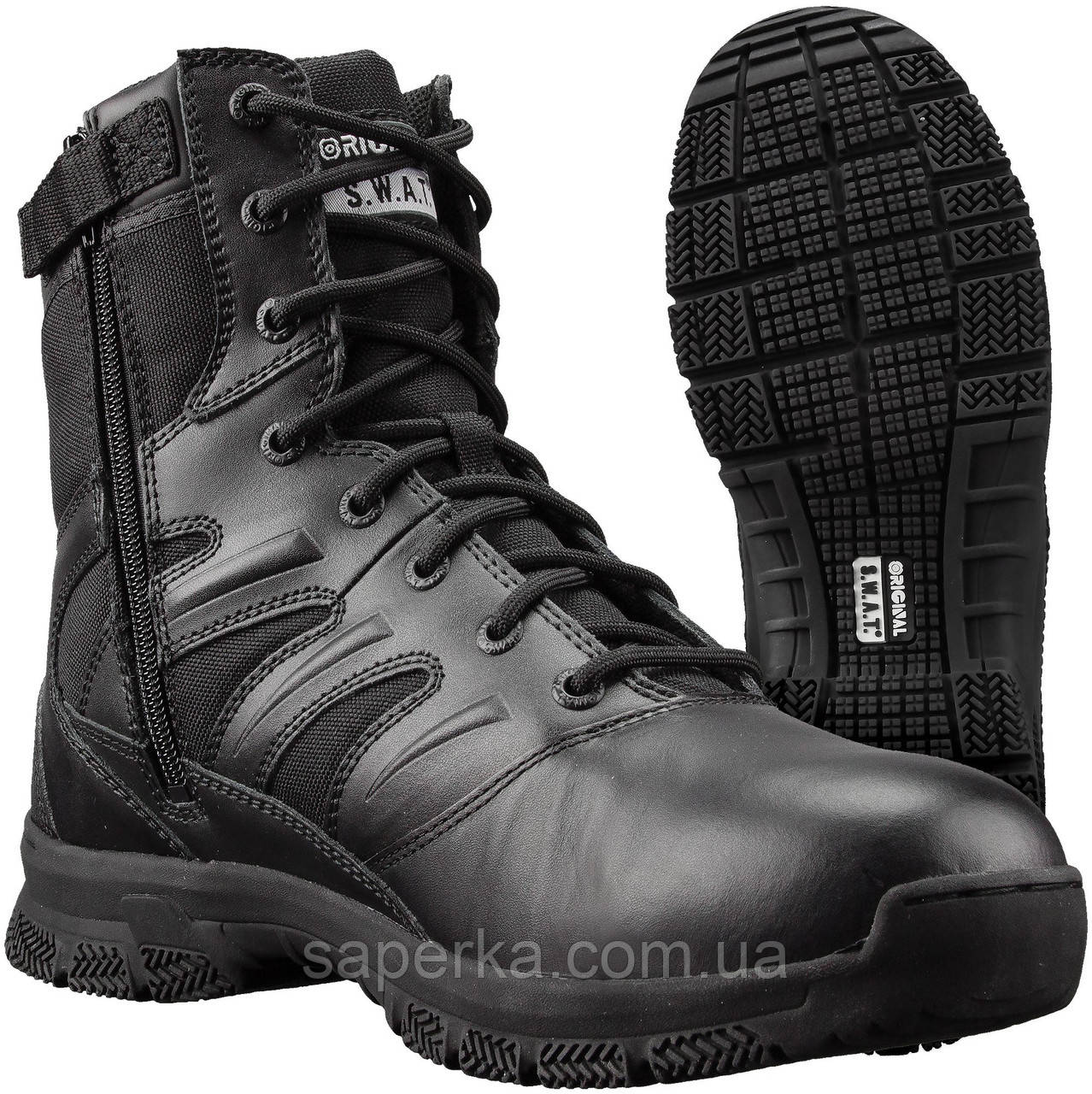 Ботинки мужские тактические SWAT Force 8 Side Zip Men's, black
