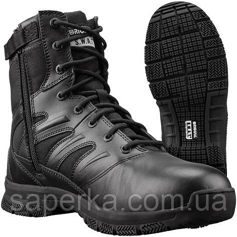 Ботинки мужские тактические SWAT Force 8 Side Zip Men's, black, фото 2