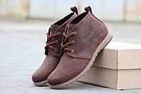 Мужские ботинки Levis коричневый (Реплика ААА+)