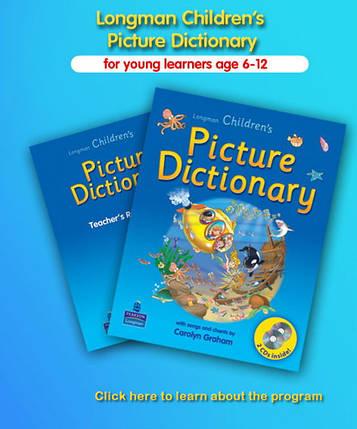 Longman Children's Picture Dictionary (+ 2 CD), фото 2