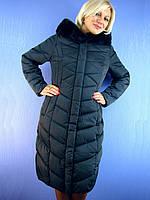 Женское пальто на тинсулейте Сайт: deify.com.ua Пуховик VISDEER 6176 (48-60) DEIFY, PEERCAT, DAMADER, DECENTLY