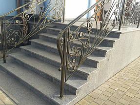 строительство лестниц из гранита