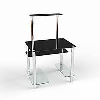 """Компьютерный стол из стекла """"Дельта"""" БЦ-стол"""