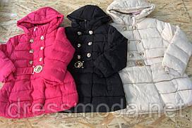 Пальто зимние для девочек H&S 134/140-158/164 р. р.
