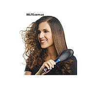 Расческа для выпрямления волос с ЖК дисплеем Szent Peter Brush, фото 1