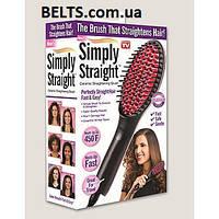 Керамическая расческа выпрямител волос Ceramic Straightening Brush