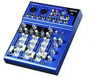 Микшерный пульт 2 моно 1 стерео F4 Audio