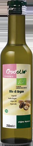 Аргановое масло натуральное Olio di Argan CrudOlio Organic (масло арганы), 250 мл.