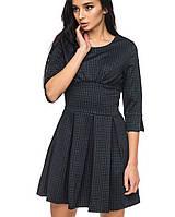 Платье с расклешенной юбкой   1255 br