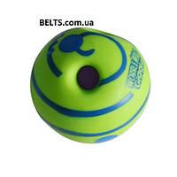 М'яч іграшка для собак Wobble Wag Giggle Ball Вабл Вог Гигл Бол (Регочуть м'яч), фото 1