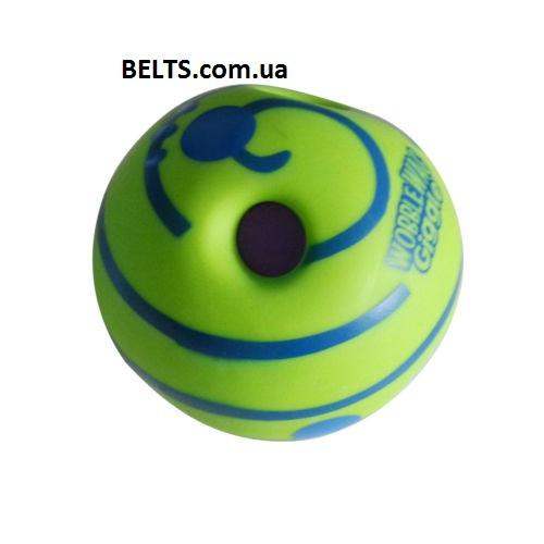 Мяч игрушка для собак Wobble Wag Giggle Ball Вабл Вог Гигл Бол (Хихикающий мяч) - Мегасвит в Киеве