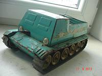 Игрушка машинка бронетранспортер железный Отвага