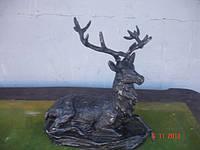 Фигура оленя алюминий монумент скульптура 1954 год